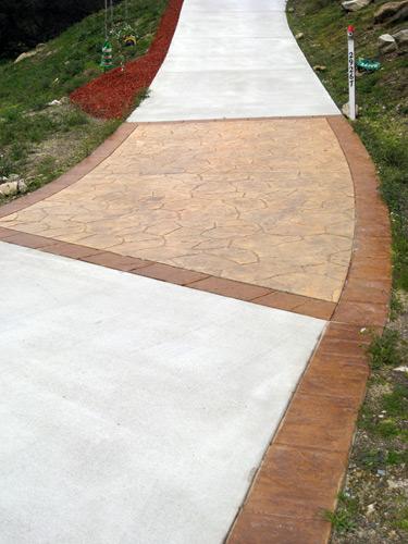 Bordered Concrete