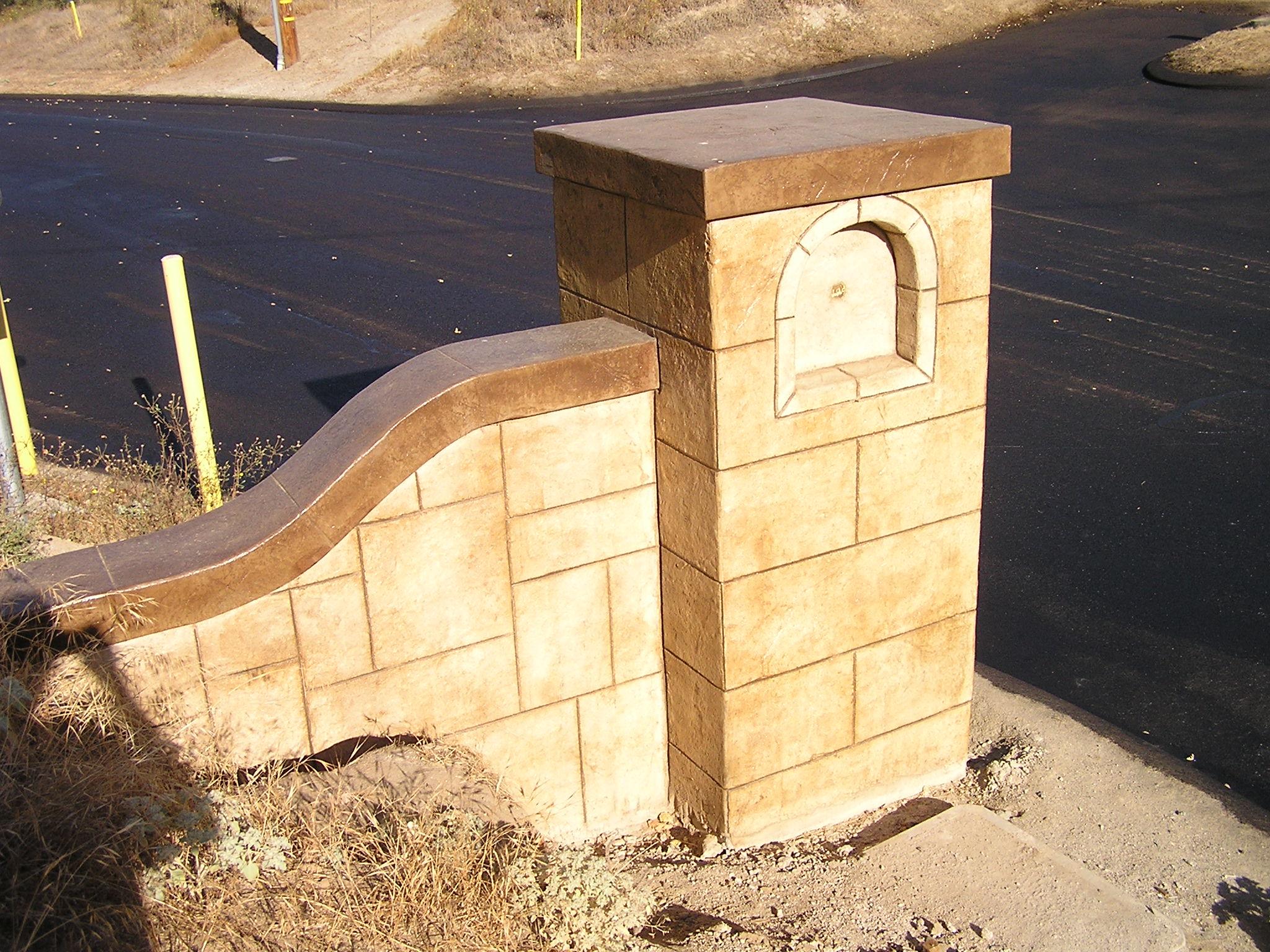 Decorative Concrete Walls | Surface Solutions Concrete SF Bay Area ...