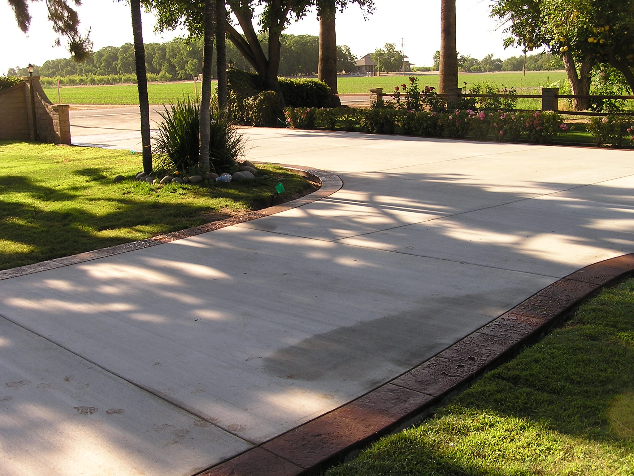 Stamped Concrete Borders Surface Solutions Concrete Sf Bay Area