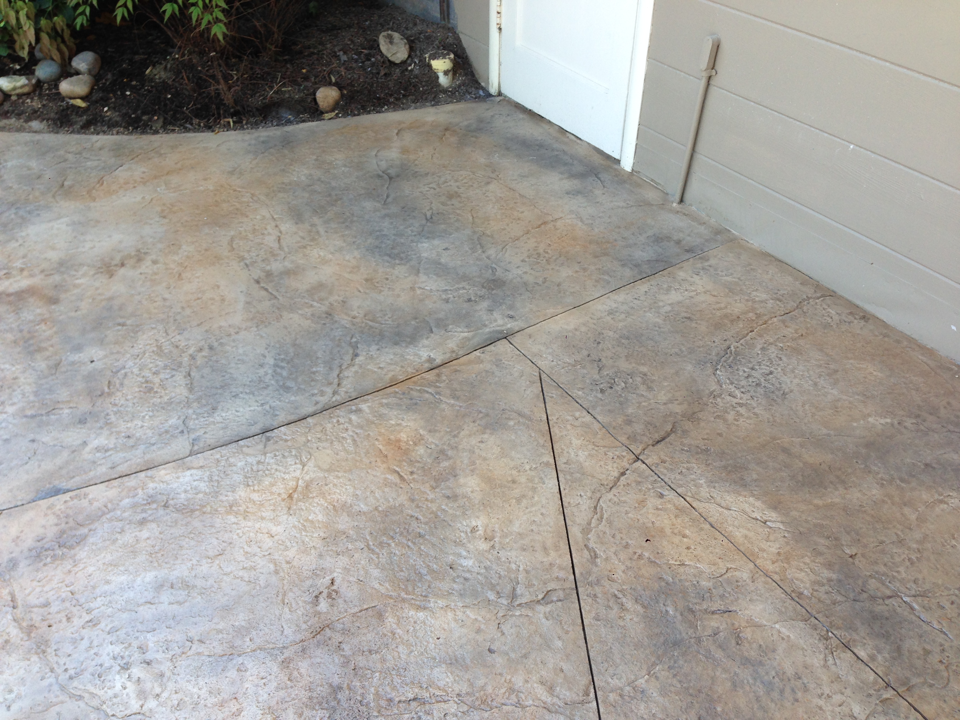 Stamped Overlay Exterior Patio 11